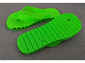TPU flip-flops for 3 year old