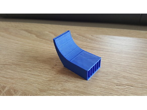 Part cooler fan for 3D printer Fan duct with slits