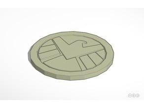 Marvel's S.H.I.E.L.D. Drink Coaster