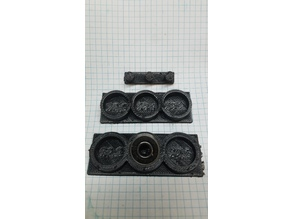 608 bearing inner and outter sizing test fixtures