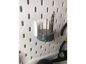 Ikea Skadis Drill Bit Carousel