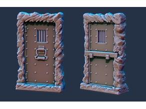 Iron Dungeon Door