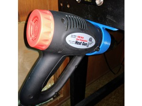 Parametric Heat Gun Holster for Harbor Freight 1500W Heat Gun