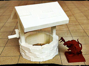 Stone Well - Miniature Terrain