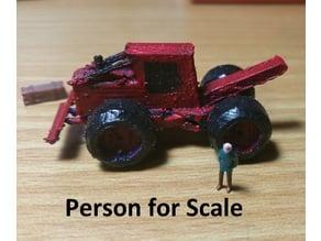 N scale skidder
