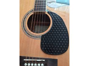 Acoustic guitar teardrop pickguard