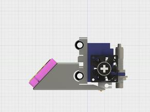 "Prusa I3 Dual, adjustable E3D printhead holder - ""Slider"""