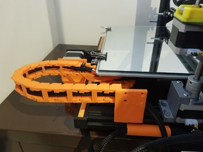 Creality CR-10 Y axis cable drag chain