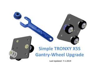 TRONXY X5S Wheel Upgrade