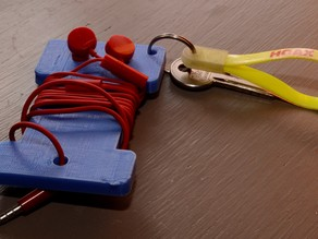 Nokia ear bud holder Rev 1.0
