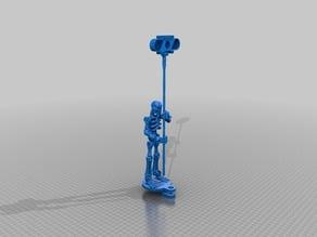 Raspi IR camera skeleton holder