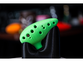 Updated 12 Hole Ocarina