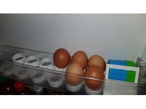 Refrigerator egg holder (extensible)