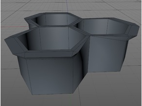 Real World Application - Concrete Walkway Mould - Hexagon