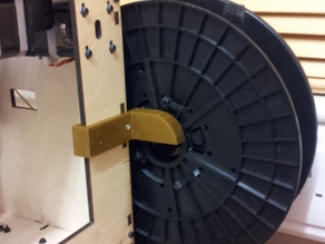 Large spool holder