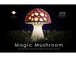 Generative design. Magic Mushroom.