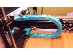 Tevo Tarantula semi open cable drag chain