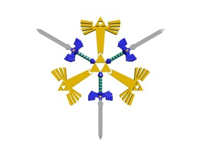The Legend of Zelda Snowflake