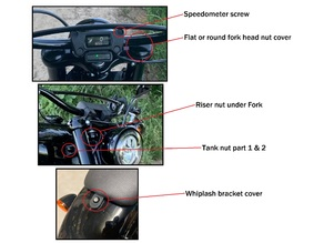 Different covers for Softail Street Bob FXBB
