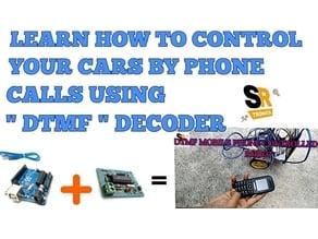 Phone Calling Arduino Robot Using Dtmf Decoder