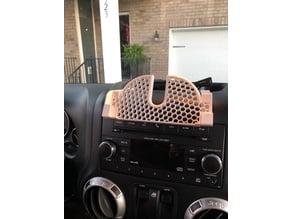 Remix Jeep Wrangler JKU Center Dash Phone Holder for iPhone 6s +