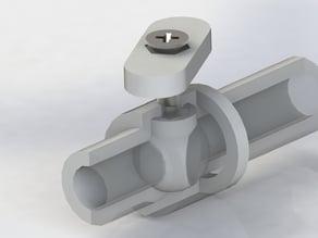 Ball valve fauncet