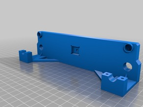 CTC Prusa i3 Front plate Joined with brackets