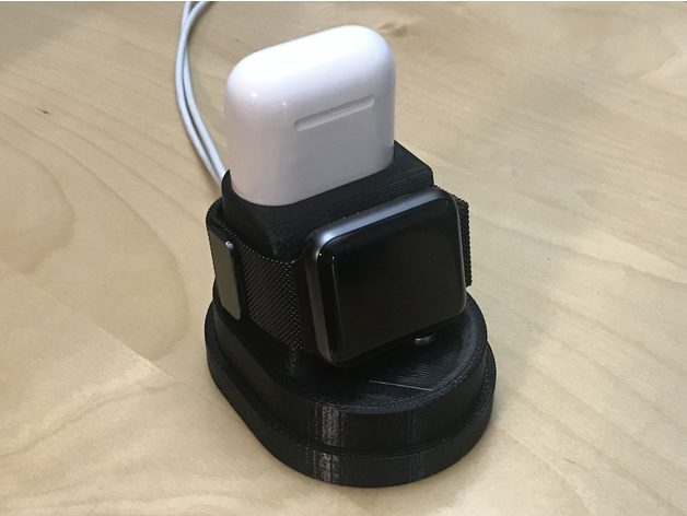 Airpod And Apple Watch Charger Stand By Kacperl Thingiverse