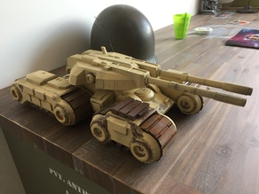 Command and Conquer Mammoth tank 1/35th scale