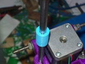 Printable LM8UU-sized PLA bushing