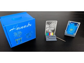 Hanabi Card Holders and Clue Markers