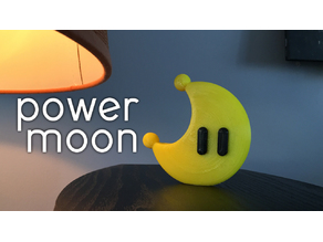 Power Moon from Mario Odyssey!
