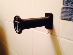Toilet Paper Holder (Pirate Themed)