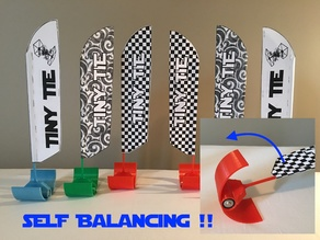 Self Balancing Indoor Drone Racing Flags
