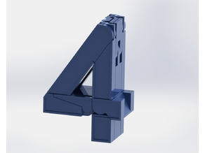 Number Robot - #4