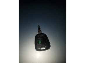 Peugeot 206cc 2005 Key unlock button