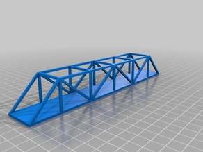 Truss Bridges and 3D Printing Techniques