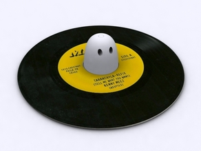 "7 inch record ""middle"""
