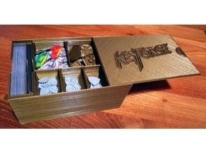 Keyforge Deck and Token Box