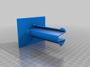 Angled Bolt-on Filament Spool Holder Makerbot2