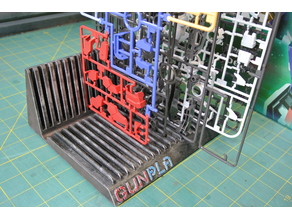 Gunpla Runner Rack / Sprue Holder