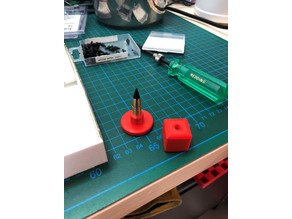 Polymer bullet tip seating tool