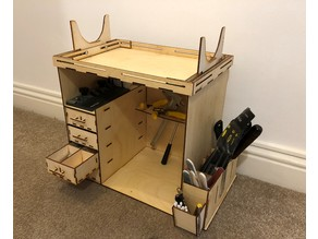 Model workshop cabinet