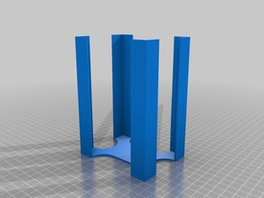 My Customized Parametric Card Tray for Board Games