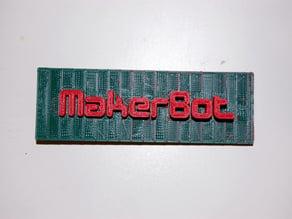 MakerBot Dualstrusion Logo