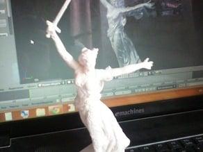 """Copy of sculpture """"Motherland calls"""""""