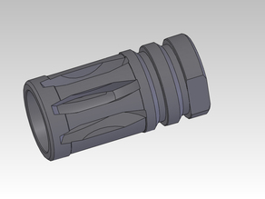 airsoft flash hider