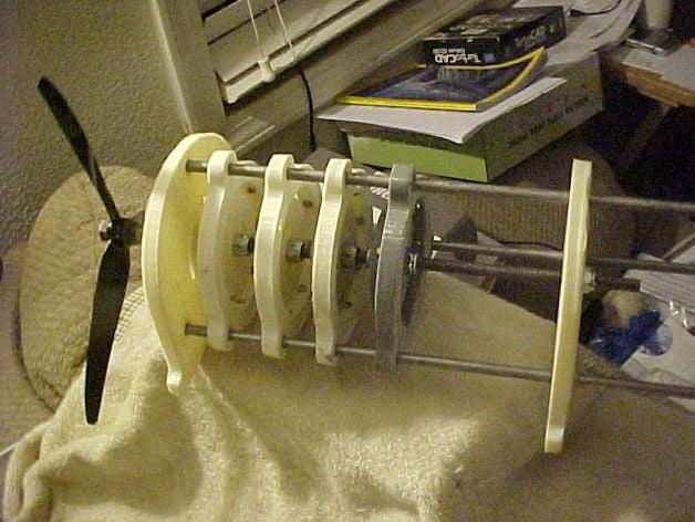 Perendev Magnet Motor Replica by ronald9