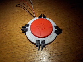 1500 Megawatt Aperture Science Heavy Duty Super-Colliding Super Button Replica (Portal)