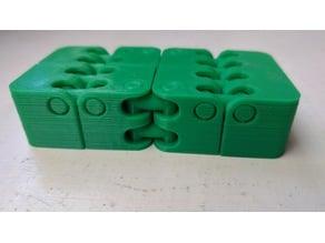 Kobayashi Fidget Cube with hinge supports
